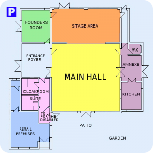Parish Hall Floor Plans